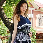 """Одежда handmade. Livemaster - original item Платье в пол """"МАРКО"""". Handmade."""