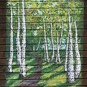 Картины и панно ручной работы. Ярмарка Мастеров - ручная работа Роспись на стене. Handmade.