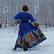 Одежда handmade. Livemaster - original item Felted dress