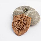 Украшения handmade. Livemaster - original item Wooden pendant