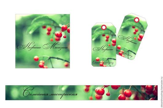 Баннеры для Магазинов мастеров ручной работы. Ярмарка Мастеров - ручная работа. Купить Зеленый Баннер и Аватар. Handmade. Баннер