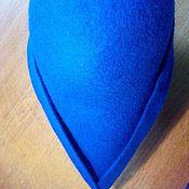 Субкультуры ручной работы. Ярмарка Мастеров - ручная работа Тиролька шляпа из войлока синяя. Handmade.