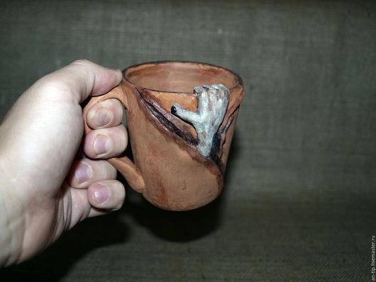 Подарки на Хэллоуин ручной работы. Ярмарка Мастеров - ручная работа. Купить Зомби чашка. Handmade. Комбинированный, подарок мужчине