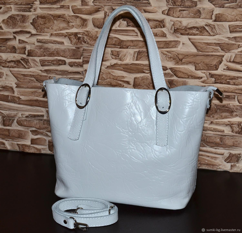 Model 142 Bag leather women's Bag made of genuine leather, Classic Bag, Bogorodsk,  Фото №1