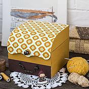 Для дома и интерьера ручной работы. Ярмарка Мастеров - ручная работа Шкатулка для рукоделия или украшений. Handmade.