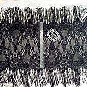 Материалы для творчества ручной работы. Ярмарка Мастеров - ручная работа Цена за 1,7м Кружево реснички 157 кружево с ресничками, шантильи. Handmade.