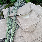 "Канцелярские товары handmade. Livemaster - original item ""Tale of the Goblin"" envelopes of handmade paper. Handmade."