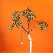 Для домашних животных, ручной работы. Ярмарка Мастеров - ручная работа Когтеточка - столбик (Дерево малое). Handmade.