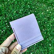 Кошельки ручной работы. Ярмарка Мастеров - ручная работа Маленький бумажник. Handmade.