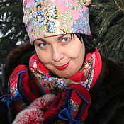 """Аксессуары ручной работы. Ярмарка Мастеров - ручная работа Комплект """"Шалунья"""" шапка+шарф-снуд+рукавички. Handmade."""