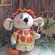 Куклы и игрушки ручной работы. Ярмарка Мастеров - ручная работа Мышка Маруся.. Handmade.