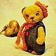 Мишки Тедди ручной работы. Заказать Мечташка Флип. Пур-Пур (pur-pur). Ярмарка Мастеров. Игрушка ручной работы