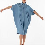 Одежда ручной работы. Ярмарка Мастеров - ручная работа Платье-рубашка FluffyAnn Артикул FA008a. Handmade.