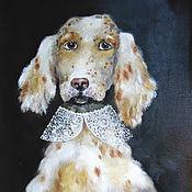Картины и панно handmade. Livemaster - original item English Lord oil painting 35h45. Handmade.