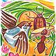 Иллюстрации к сказкам. Открытки. Олеся Осипова Яркая живопись. Ярмарка Мастеров. Фото №4
