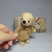 Куклы и игрушки ручной работы. Ярмарка Мастеров - ручная работа Мишка Митенька. Handmade.