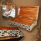 Trinket Boxes handmade. Box - copernica 'Billiard club'. Mspo. Online shopping on My Livemaster. Beige