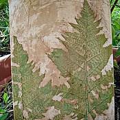 """Картины и панно ручной работы. Ярмарка Мастеров - ручная работа """"Лесной папоротник"""". Handmade."""