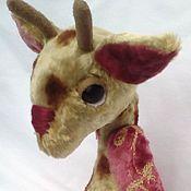 Куклы и игрушки ручной работы. Ярмарка Мастеров - ручная работа жирафик плюшевый  Вениамин. Handmade.