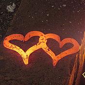 Свадебный салон ручной работы. Ярмарка Мастеров - ручная работа Кованые сердца - признание в любви!. Handmade.