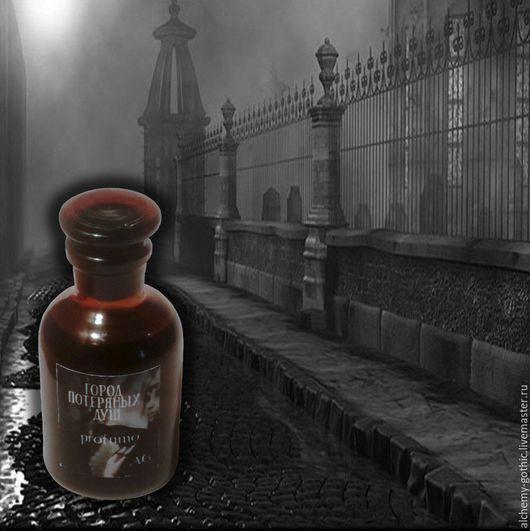 """Натуральные духи ручной работы. Ярмарка Мастеров - ручная работа. Купить """" Город потерянных душ """" духи натуральные. Handmade."""