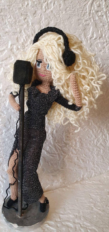 Кукла Певица, Портретная кукла, Кемерово,  Фото №1