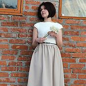 """Одежда ручной работы. Ярмарка Мастеров - ручная работа Платье """"Vanilla"""". Handmade."""