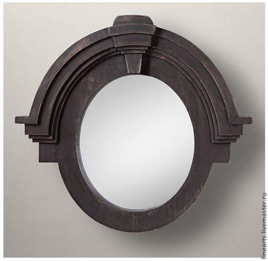 Зеркала ручной работы. Ярмарка Мастеров - ручная работа. Купить Дизайнерское зеркало в раме ручной работы. Handmade. Зеркало
