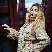 Одежда ручной работы. Ярмарка Мастеров - ручная работа Шуба из каракуля и соболя. Handmade.