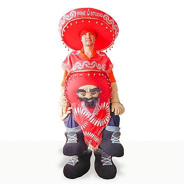 """Дизайн и реклама ручной работы. Ярмарка Мастеров - ручная работа Ростовая куклы """"Мексиканец"""". Handmade."""