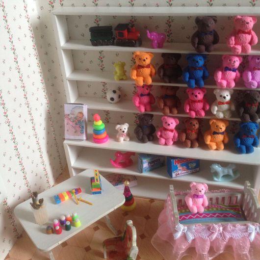 Куклы и игрушки ручной работы. Ярмарка Мастеров - ручная работа. Купить Миниатюрные игрушки в кукольные детские комнаты. Handmade. Комбинированный