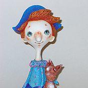 Куклы и игрушки ручной работы. Ярмарка Мастеров - ручная работа шут и котик. Handmade.