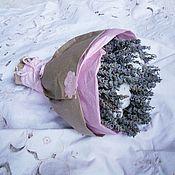 Букеты ручной работы. Ярмарка Мастеров - ручная работа Букет лавандин и хлопок сухоцвет. Handmade.