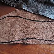 Кожа ручной работы. Ярмарка Мастеров - ручная работа Кожа для подошвы тапочек. Handmade.