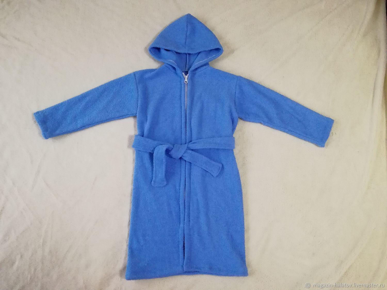 Детские халаты махровые сшить