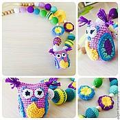Одежда handmade. Livemaster - original item Slingobusy with owl