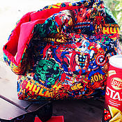 Сумки и аксессуары handmade. Livemaster - original item Bag-double-sided bag: Heroic campaign. Handmade.