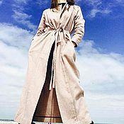 Одежда ручной работы. Ярмарка Мастеров - ручная работа Лёгкое всесезонное пальто Эклектика. Handmade.