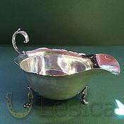 Винтаж handmade. Livemaster - original item The silver gravy boat England Antiques. Handmade.