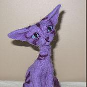 Куклы и игрушки ручной работы. Ярмарка Мастеров - ручная работа Орнаментальная кошка Сирения. Handmade.