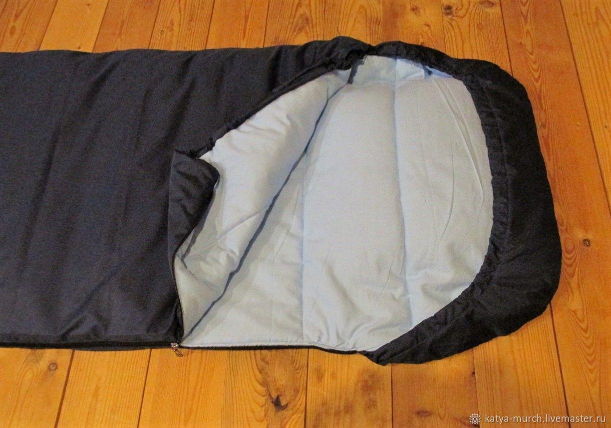 Текстиль, ковры ручной работы. Ярмарка Мастеров - ручная работа. Купить Спальный мешок, спальник туристический. Handmade. Одеяло, спальник