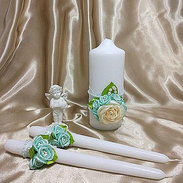 Свадебный салон ручной работы. Ярмарка Мастеров - ручная работа Свечи, семейный очаг. Handmade.