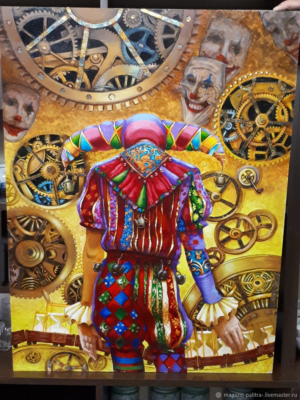 """Стильная картина акрилом """" Чайный Арлекин"""", Картины, Магнитогорск,  Фото №1"""