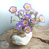 Цветы и флористика handmade. Livemaster - original item Copy of Copy of Copy of Copy of Copy of Swamp iris polymer clay. Handmade.