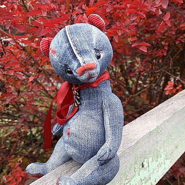 Куклы и игрушки ручной работы. Ярмарка Мастеров - ручная работа Мишка тедди Милаш. Handmade.