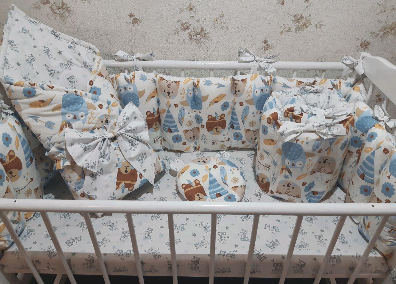 Бортики в кроватку, Бортики в кроватку, Геленджик,  Фото №1