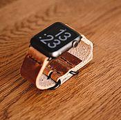 Ремешок для часов ручной работы. Ярмарка Мастеров - ручная работа Ремешок для Apple Watch. Handmade.