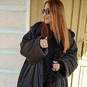 """Одежда ручной работы. Ярмарка Мастеров - ручная работа Пальто на меху """"Кокон 3"""". Handmade."""