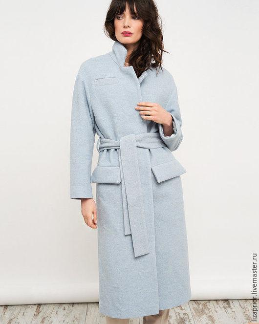 Пальто-халат из итальянской шерсти