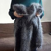 Аксессуары handmade. Livemaster - original item Down shawl shawl handmade, 100 x 100 cm, 52. Handmade.